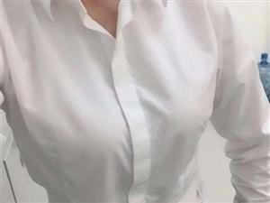 白衬衫里不能穿深色的内衣?同事说我这样穿不检点