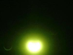 日食这一罕见天文景观,信丰人你看到了吗?