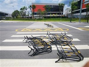信丰工业园交通安全隐患,请交通部门引起重视