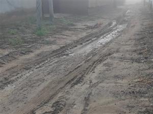 现在村里至今还是土路路,下雨天给村民带来极大困扰。望有关部门领导给解决一下,谢谢。