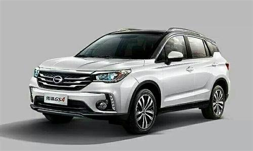广汽传祺2017款两驱自动精英版1.3T