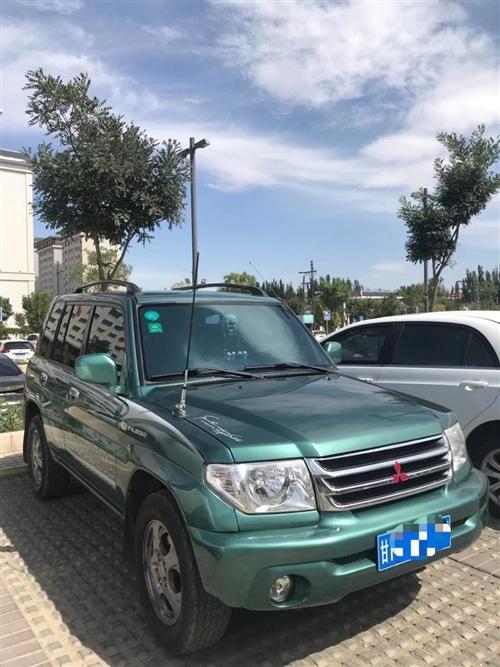 个人三菱帕杰罗io出售,车况完美,纯素车