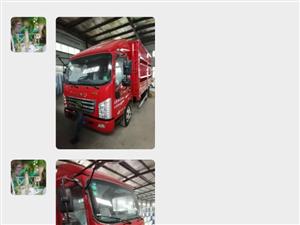 唐骏高栅货车
