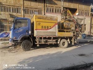地泵泵车带管