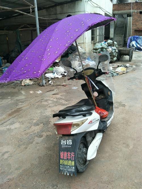 爱玛电动车,还可以骑40公里,外壳旧一直没洗!