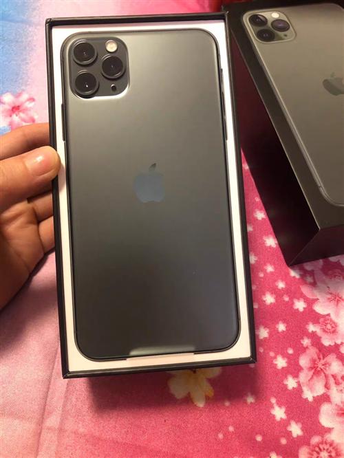 出售二手苹果11promax手机,深空灰色,因为用不习惯苹果系统所以出售,价格1600元,可以当面试...