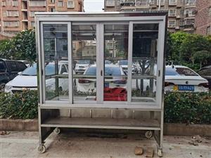 **未用熟食架子,长2米宽85高2米,造价4300元,现低价转让