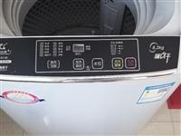 长虹洗衣机8公斤透明灰,小型波轮,全自动,大容量+强力风干