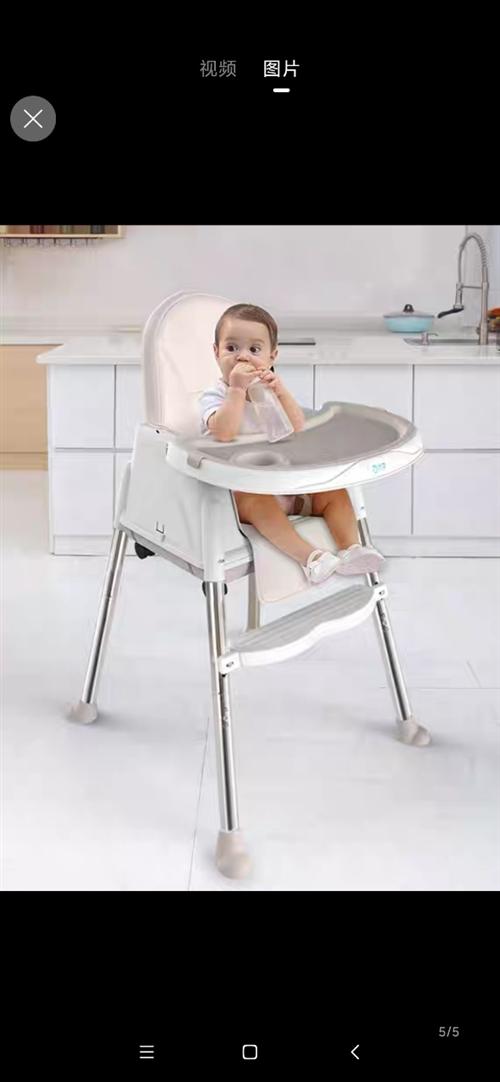 **儿童餐椅用过3次。