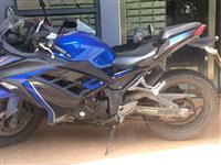 400cc双杠水冷摩托车 原价21000 9.5成新 跑了6000公里 合格证手续齐全 已上牌可过户...