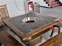九成新大理石火锅桌处理。