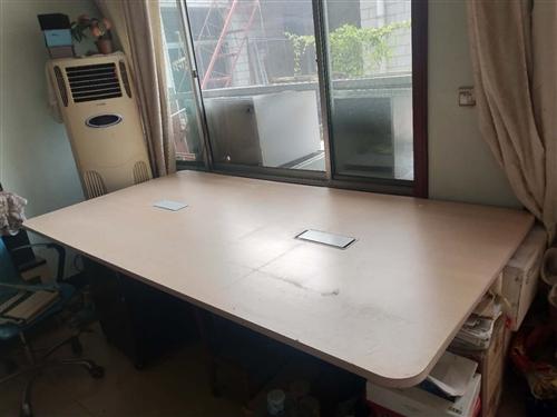 時尚簡約會議桌1.2米*2.4米,同城自提!