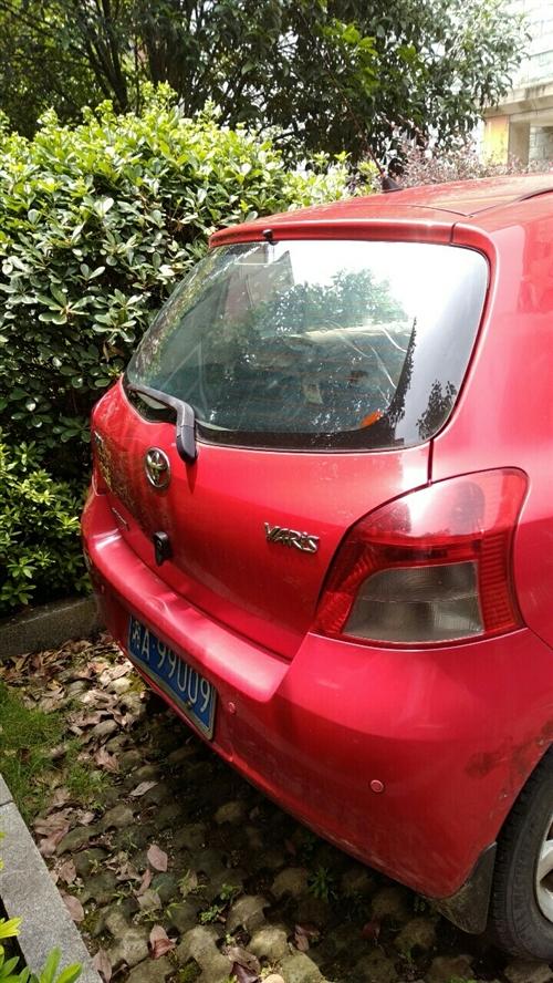 08年丰田雅力士汽车,车在公园道一号,正常行驶,十万公里。