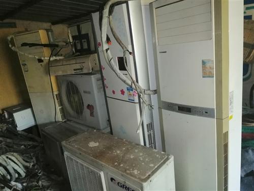 现有家用柜机空调三台,挂机空调一台出售。