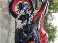 地平线电喷双缸350  手续齐全需过户 骑行4600公里   4000元出售  m4排气声浪动人  ...