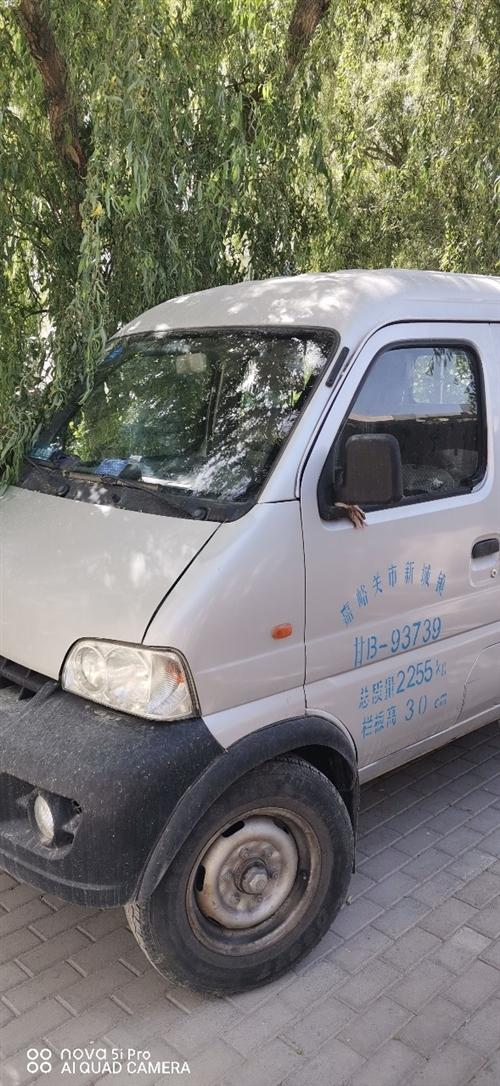 长安新豹2011年7月行驶5万左右车箱2米X1.5米