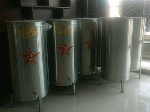 六个不锈钢酒桶,高1.2米,直径0.6米,装五六百斤左右,带底座处理