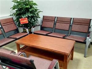 今日特价�铭� 办公椅一套+木茶几一个,原价3000多买的,九成新没用过,现在只需980,980!!...