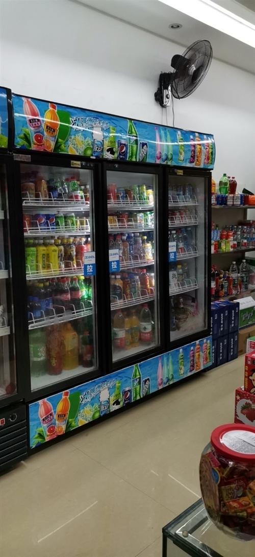 本店有個三門展示柜冰箱二手轉讓,尺寸一米八,寬,高約兩米側深60厘米,冰箱位置在新市區可以看,價格約...