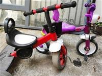 儿童脚踏车两个一起转,买来180元,现在一起卖39元