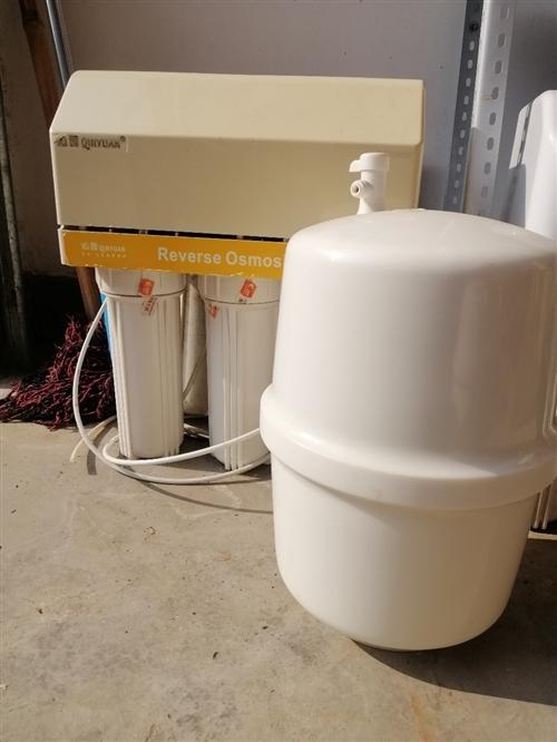 转让沁园净水器一台,因去外地工作,急转全自动反渗透沁园净水器一台,刚换的新滤芯(价值300元),双水...
