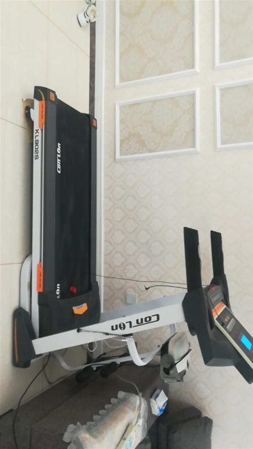 今有从圣豪商厦购买的九成新康林KL902S0171时尚型多功能电动跑步机,原价3600元,现半价出售...