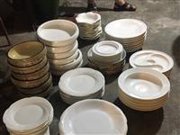 出售点旧餐具  成色好  光洁度高 品种多 价格优惠 主要想腾库房 联系电话15308012625
