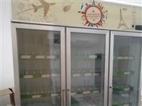 三門展示冰柜,只用不到一年,9成新
