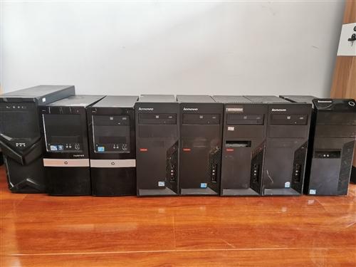 出售辦公用電腦一批,辦公用沒問題,超低價出售,可自取可送貨。