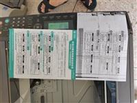 bizhub163V一体机,传真,打印,复印,扫描,支持A3大纸张,A4  等,墨盒有问题,懒得去换...