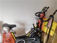 转让九成新室内健身单车,功能都正常,无任何故障