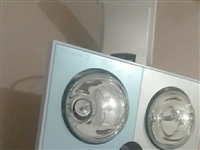 暖浴器一个去年才买的,买时花了298元。用了几个月,九成新????因现在的房子装有暖浴器,所以现低价...