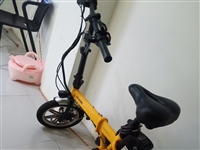 捷达折叠电动自行车 九成新 回老家带不走 三亚市自提 喜欢联系