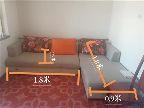 出售二手全友沙发,买沙发送沙发套,八成新,入手价2800,出手价格优惠,尺寸图片标明,可议价