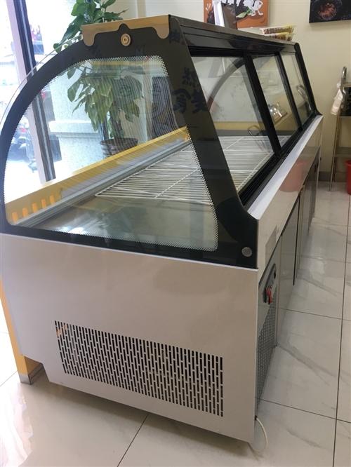 上下两层保鲜冷冻 下层可做冰箱 双压缩机直冷大冷柜只使用了两个月 小吃店必选优品