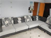 布艺沙发,2+1+2,七成新,价格可优惠