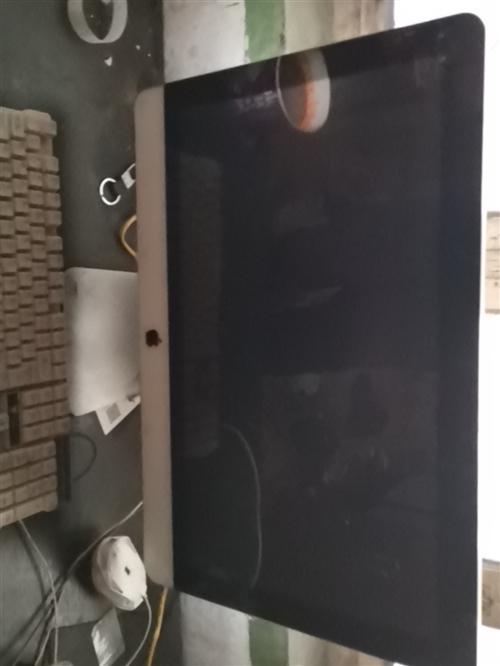 苹果因为搬家不想要了。800出售。能正常开关机,不带鼠标键盘。苹果一体机手慢无。
