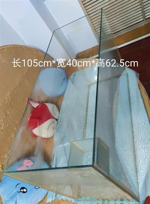 鱼缸,玻璃砖的,足8mm厚,自提