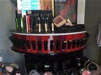 化妆品展示柜特价转让 包含样品和产品