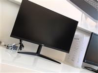 AOC冠捷电脑显示屏,24寸**。