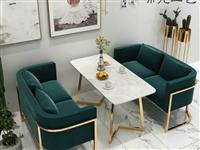 圆桌尺寸为800厘米,长桌为600*1200厘米 分别为两张圆桌带6张椅子。长桌3张,长椅6张。**...