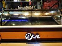 本店准备转型,现有卤味冷冻保鲜展示柜一台  7成新 支持自提,价格可以再谈~  做冷锅串串,甜品...