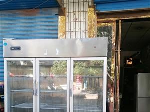 三开门不锈钢冷藏柜,东西自己看,美太。处理 合阳县商城15891048759
