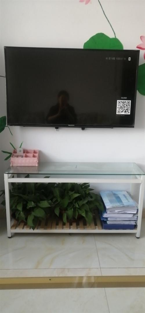 轉讓花架電視櫃120帶兩盆花.玻璃是鋼化玻璃的13889122512非誠勿擾