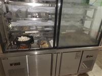 出手八九成新冷藏冷凍展示柜