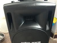 索爱15寸大音响闲置低价出售开业只用了一个星期成色9成新以上音量超大音质好有需要的可联系131271...
