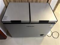 九成新冰柜,做刨冰使用3个月,一个冷藏柜,一个冷冻柜,博兴县城东可看货