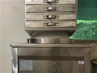 闲置肠粉机,8-9成新.尺寸40×45一抽一份,蒸炉四孔,可蒸包用   联系电话1509193807...