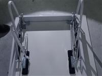 **装修阁楼用加厚升降梯面板加边框(800×1200),只需加装踏步即可使用。因本人尺寸买错,考虑到...