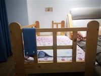 婴儿床拼接床可以从刚出生用到上幼儿园,我宝宝睡了一段时间不睡了所以出给有需要的宝妈,同城自提,城区可...